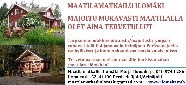 Seinäjoki: Maatilamatkailu Ilomäki