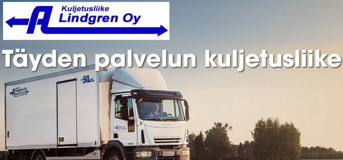 Kruunupyy: Kuljetusliike Lindgren Oy