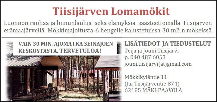 Lapua: Tiisijärven Lomamökit
